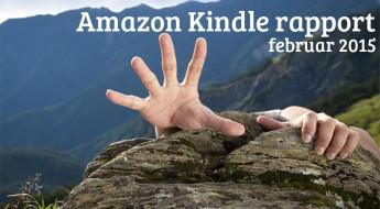 Amazon Kindle rapport - februar 2015