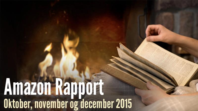Amazon rapport - Oktober, november og december 2015
